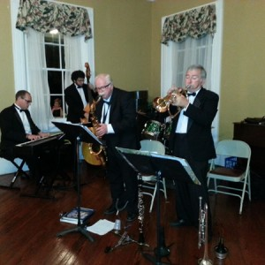 Evening music in the Claymont ballroom