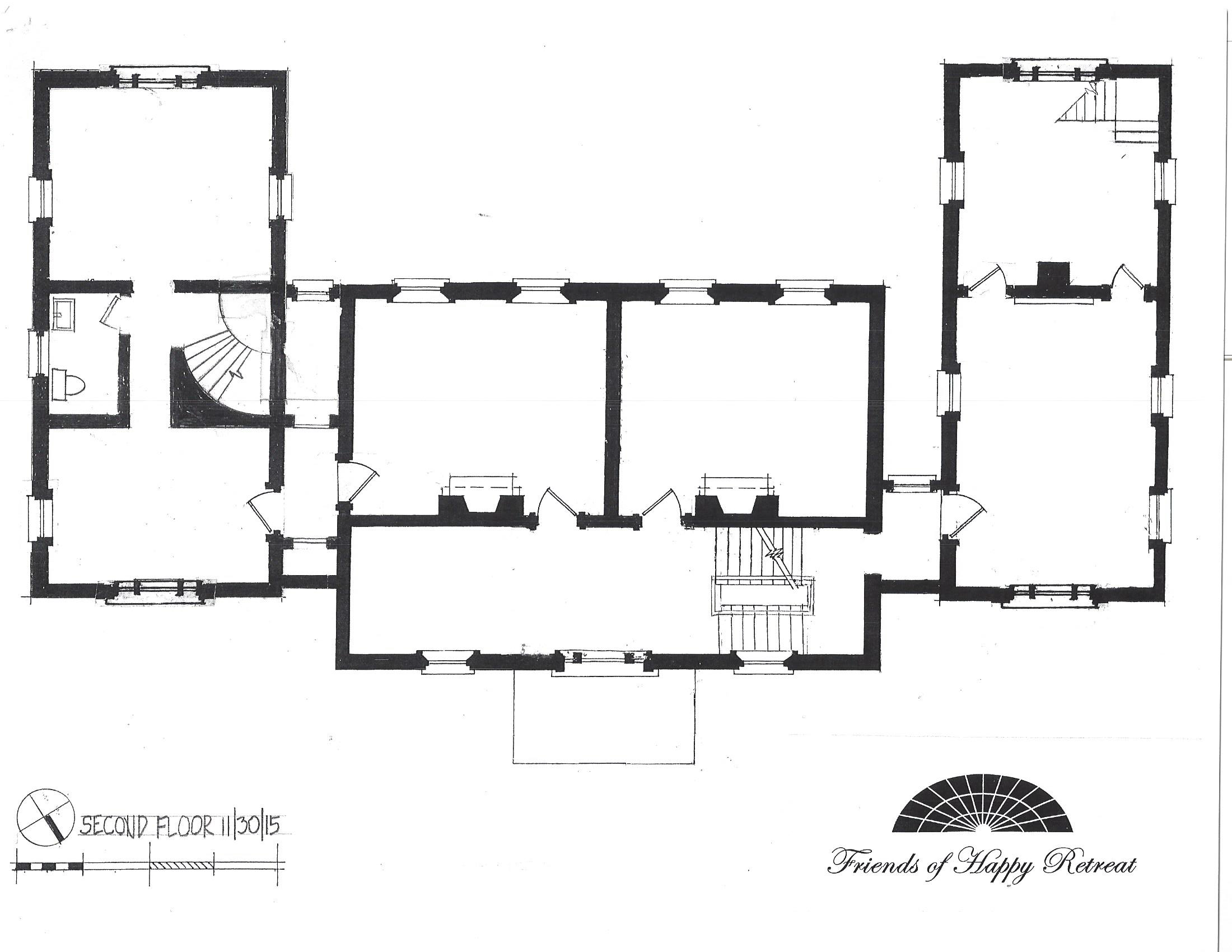 Happy Retreat Floorplan