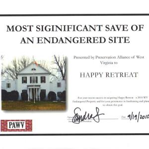 PAWV Award