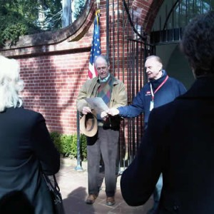 2012 Visit By FOHR Board Members to George Washington's Mount Vernon Estate