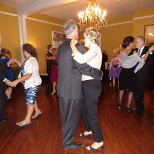 Everyone enjoyed dancing in the Clamont Ballroom