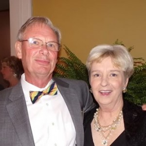 "J.R. (""Randy"")Hilton, President of FOHR and his wife Vicky enjoyed the ball."