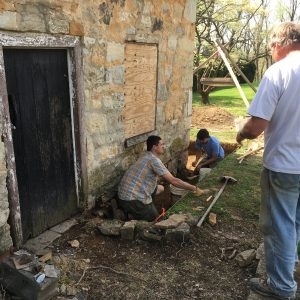 Archeology at Happy Retreat's Summer Kitchen/Smokehouse
