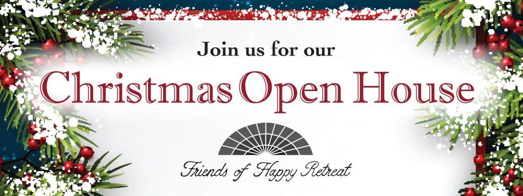 Christmas Open House.Christmas Open House Happy Retreat