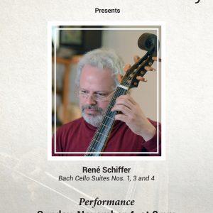 René Schiffer - Bach Cello Suites Nos. 1, 3 and 4