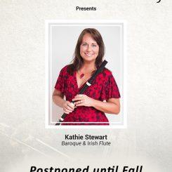 Kathie Stewart, Baroque & Irish Flute (Postponed until Fall)