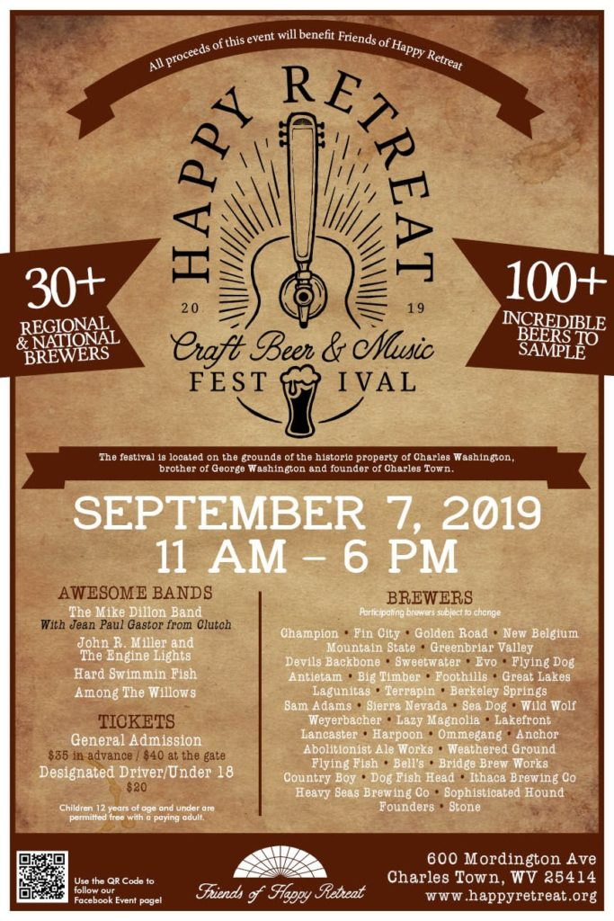 Happy Retreat Craft Beer and Music Festival 2019