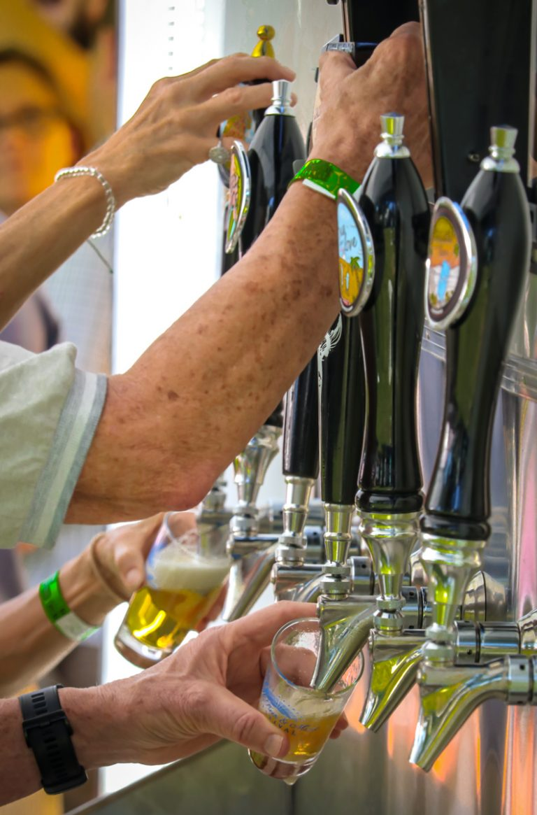 Volunteers for the Craft Beer & Music Festival – Thank you!