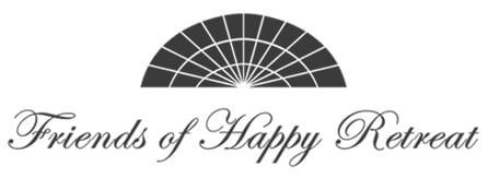 Friends of Happy Retreat fan logo