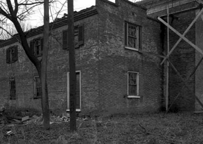 East side front of Happy Retreat 1945