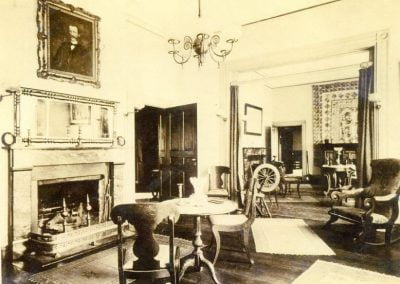 Inside Happy Retreat's right (West) Parlor